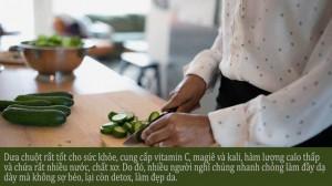 Detox cơ thể bằng dưa chuột: Chuyên gia khẳng định hại nhiều hơn lợi!