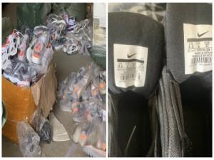Nhập lậu giầy Trung Quốc gắn mác 'Made in VietNam' bị tóm sống
