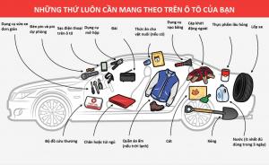 7 món đồ nhất định phải có trên ô tô để bảo vệ tính mạng trong bất cứ trường hợp nào