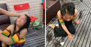 Xôn xao hình ảnh thiếu nữ 15 tuổi bị đánh ghen dã man, cắt trụi tóc do ngoại tình với chồng
