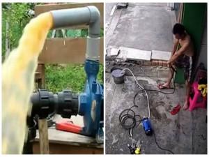 Dùng máy bơm nước gia đình coi chừng 'uổng mạng' vì điện giật