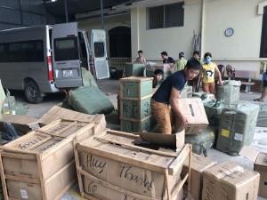 Nhập lậu cây sen tắm, khăn tắm của Trung Quốc về Việt Nam tiêu thụ
