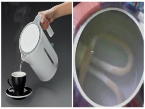 Thận trọng khi để nước thừa trong bình đun siêu tốc