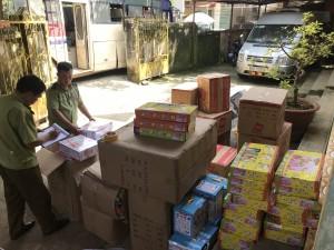 Bắt giữ 10.000 sản phẩm đồ chơi trẻ em nhập lậu, không có tem hợp quy