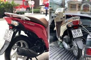 Loạt xe tay ga Honda Vision giá trăm triệu gây sốt