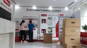 Máy lọc nước Mitsubishi Chemical Cleansui có dấu hiệu 'giả' dấu hợp quy CR?
