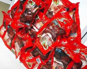 Sự thật đùi gà Trung Quốc để 1 năm không hỏng, giá 15.000 đồng/cái