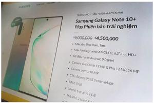 Thu giữ hàng loạt điện thoại nhái thương hiệu Samsung