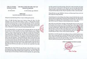 Vì sao Asanzo của CEO Phạm Văn Tam tạm ngừng hoạt động?