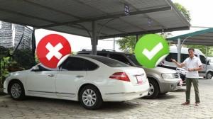Vì sao nên quay đầu ra ngoài khi đậu xe ô tô?