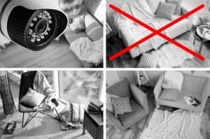 Cẩn trọng với những điểm đáng ngờ trong căn phòng để bảo vệ gia đình