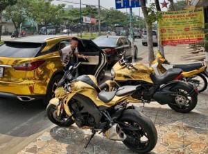 Gắn mác chơi siêu xe môtô tiền tỷ và cái kết cho các giang hồ mạng