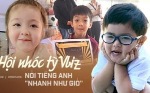Những nhóc tỳ Vbiz có khả năng nói tiếng Anh