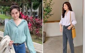 Để tránh bị chê khi diện quần jeans đi làm, nàng công sở chỉ cần nhớ đúng 4 tips