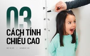 Bác sĩ nhi khoa hướng dẫn cha mẹ 3 phương pháp dự đoán chiều cao của con trong tương lai