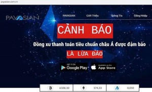 Công an cảnh báo thủ đoạn lừa đảo, huy động tiền qua ví điện tử Payasian