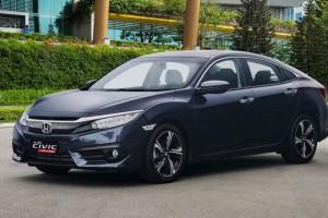 Giá xe ôtô hôm nay 15/10: Honda Civic có giá 729 - 934 triệu đồng