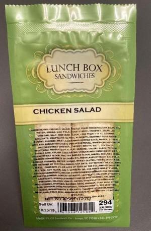 Tiếp nối cuộc thu hồi thịt gà, Grand Strand thu hồi sandwich vì nguy cơ nhiễm vi khuẩn Listeria