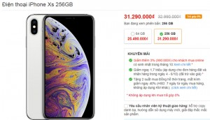 Top smartphone giảm giá