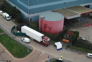 Vụ 39 người nhập cư tử vong: Bí ẩn tài xế lái xe containe từ Bỉ sang Anh