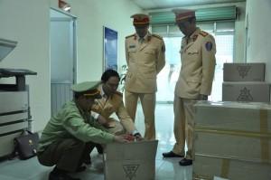 Bắt giữ gần 3.000 hộp mỹ phẩm không rõ nguồn gốc trị giá gần 1 tỷ đồng