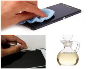 Cách vệ sinh màn hình điện thoại cảm ứng, máy tính bảng nhanh và dễ nhất