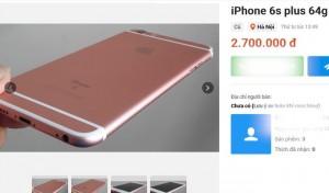 iPhone 6s Plus giảm giá 'sốc' về mốc 3 triệu đồng
