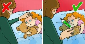 10 sai lầm chăm sóc trẻ hầu như ai cũng mắc