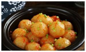 Khoai tây đem nghiền nát, thêm chút sốt cà chua thành món ngon không tưởng