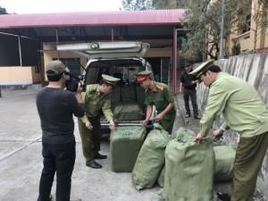 Lạng Sơn: tThu giữ 600 kg nầm lợn không có nguồn gốc