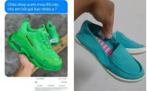 Chàng trai 'khóc thét' khi đặt mua giày thể thao, nhận về đôi búp bê