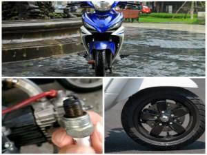 9 bộ phận dễ bị hư hỏng gây mất an toàn nhất của xe máy