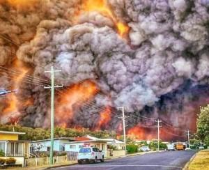 Amazon cháy kỷ lục, Úc cũng cháy