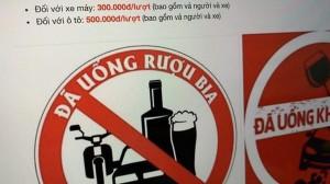 Chỉ cần 300.000 đồng, người uống rượu bia say đến mấy cũng không bị tước bằng lái