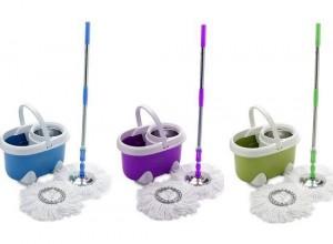 Mẹo vệ sinh chổi lau nhà thơm tho sạch khuẩn