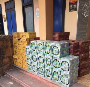 Nhập lậu 2.030 lon nước tăng lực, nước cốt dừa bị thu giữ