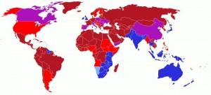 Giải mã lí do hàng chục quốc gia quy định lái xe ôtô đi bên trái đường