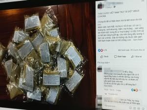 Thực hư việc thảo dược diệt virus corona lan truyền trên mạng xã hội Facebook