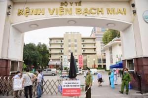 Chủ tịch Hà Nội ra công điện khẩn về ổ dịch tại Bệnh viện Bạch Mai