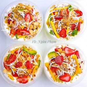 Công thức làm kem sữa chua trái cây tươi siêu đơn giản mà hiệu quả bất cứ ai cũng làm được
