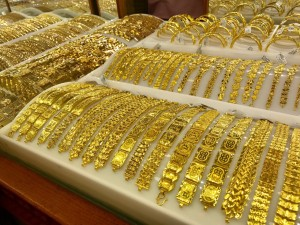 Giá vàng bất ngờ tăng 'nóng' trở lại