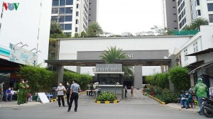 Tiếp tục cách ly 1 chung cư ở Thảo Điền (TPHCM) vì có người mắc Covid-19