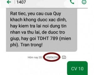 """Vietnamobile """"chặn"""" khách hàng ủng hộ phòng, chống dịch COVID-19?"""