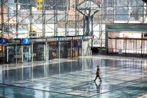 Bên trong bệnh viện dã chiến ở công trình 200.000 m2 tại New York
