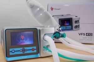 Sau 3 tuần công bố kế hoạch Vin Group đã hoàn thành hai mẫu máy thở phục vụ điều trị Covid-19