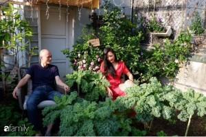 Bà mẹ trẻ ở Hà Nội chia sẻ kinh nghiệm trồng