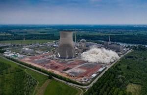 Video: Khoảnh khắc lò phản ứng hạt nhân Đức đổ sụp sau hàng loạt tiếng nổ