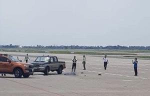 Cảng hàng không Nội Bài thông tin vụ nữ nhân viên vệ sinh bị xe bán tải đâm t.ử v.ong tại sân bay