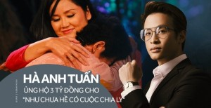 Hà Anh Tuấn ủng hộ 3 tỷ cho