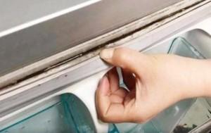 Làm sạch bong gioăng tủ lạnh bằng mẹo cực đơn giản, vừa nhàn vừa dễ đánh tan vi khuẩn